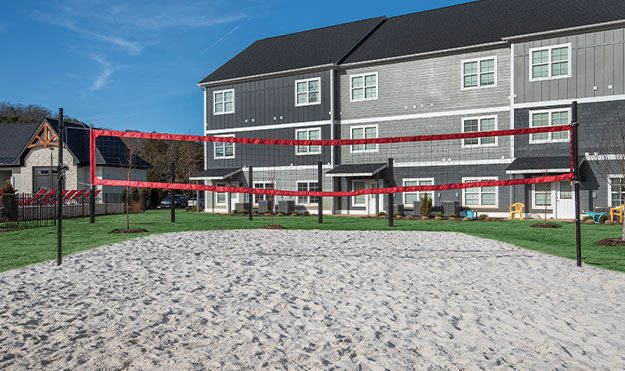 Outdoor Sand Volleyball Court