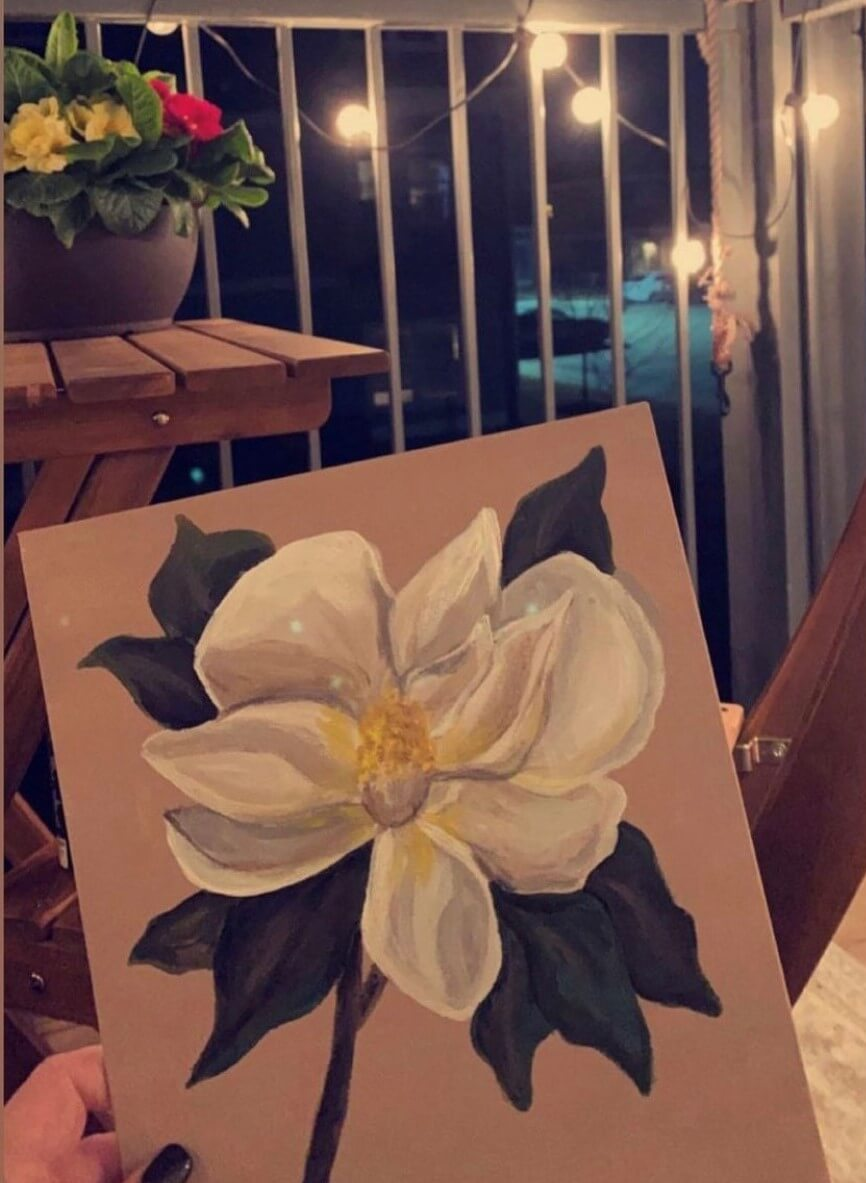 the-cottages-on-hollywood-hosts-canvas-painting-night